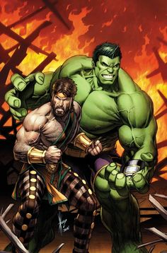 #Hulk #Fan #Art. (Great Lakes Avengers Vol.2#1 Cover) By: Will Robson.  ÅWESOMENESS!!!™ ÅÅÅ+