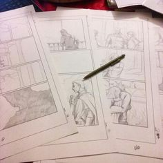 Pagine di #fumetto #fantasy #comics #darkness #god #pages #sketch #pencil #matite