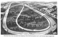On August 19, 1909, the Indianapolis Motor Speedway holds its inaugural race (spoiler alert: Louis Schwitzer wins).
