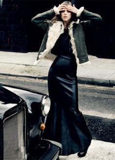 Unique Long Leather Skirt - Skirt - Bottoms   Women's clothing ...
