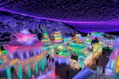 China's Harbin Ice Festival