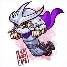 Super Lil TMNT: The Shredder!!! #mangastudioex5 #tmnt #teenagemutantninjaturtles…