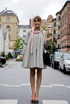 Street style, Copenhagen.  Sigh, I miss that place and all those pretty people.
