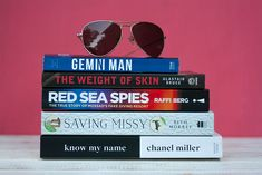 Our Book Reccomendations for April 2020 include Chanel Miller's memoir, an Israeli rescue mission, Gemini Man the book and two other novels. Book Corners, Gemini Man, Red Sea, Book Recommendations, Memoirs, Book Review, True Stories, The Book, Novels