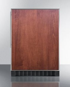 Summit SPR627OSFR 24 Commercially Approved Energy Star Compact Refrigerator with 46 cu ft Capacity Digital Thermostat Frost Free Adjustable Glass Shelves and Black Cabinet SS Frame Slide In Panel *** Check out the image by visiting the link.