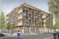 SBA Timber Architecture, Concept Architecture, Architecture Design, Mood Images, Central Business District, Social Housing, Wood Structure, Sendai, Affordable Housing