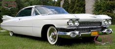 Award-winning 1959 Cadillac Coupe deVille. A fairly recent restoration project by CPR. Learn more at www.cprforyourcar.com #classiccars1959cadillac