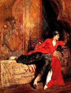 Mujer Oriental (1889) Arturo Michelena (Venezuela, 1863-1898)