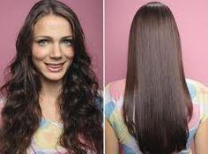 Óleo de coco para alisar os cabelos
