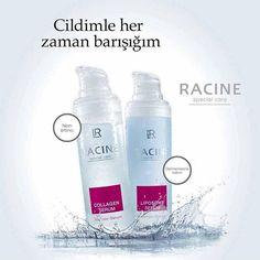 """""""#LR Racine Liposom ve Kolajen Serumu Cildiniz bu iki ürünle her zaman taptaze ! #güzellik  #makyaj #makeup #saç #kuaför #cilt #ciltbakımı #bakım #terapi…"""""""