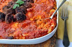 Riso al forno alla reggina ricetta siciliana, facile, ottimo piatto per le feste, ricetta riso al pomodoro, carne, mozzarella, formaggio, primo piatto ricco.