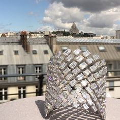 Very Parisian setting for an amazing Messika cuff bracelet. On the rooftop of Messika headquarter. @hodaroche @hodarochecommunication @messikajewelry #rooftop #parisianview #highjewelry #sacrecoeur #montmartre #messika #myjewelryweek #jewelrygeek #cuffbracelet #paris #iloveparis #parisexperience #surlestoits #lestoitsdeparis