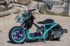 Honda Ruckus... | under 100cc and tons of cool ...