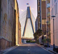 """Anzac Bridge, Sydney Australia ✖️✖️✖️ . . Sydney's very own little version of New York's Atlantic Avenue and their view of the Manhattan Bridge . . #pentax #queekygrams #roamtheplanet #streetlife #seeaustralia #sydney #sydney_insta #cityofsydney #sydneybride #travelon #travelblogger #travelgram #unlimited_australia #visitnsw #welivetoexplore #wanderaustralia #wow_australia2017 #concretejungle #australianphotographer #illgrammers"" by @thephotonomad.aus. #pic #picture #photos #photograph…"