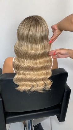 Wavy Hairstyles Tutorial, Up Hairstyles, Hair Ponytail Styles, Curly Hair Styles, Hair Curling Tutorial, Prom Hair Tutorial, Hair Upstyles, Bridal Hair Updo, Wedding Hair Inspiration
