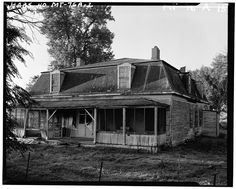 4 x 5 in. Miles City, Story Setting, Old Farm, West Side, Side View, Old Houses, Montana, Abandoned, Beautiful Homes