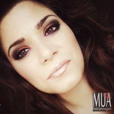 MakeUpArrangiarsi: Electric palette makeup