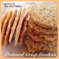 WOW! Yum! Oatmeal Crisp Cookies! from @N a'omi Who?
