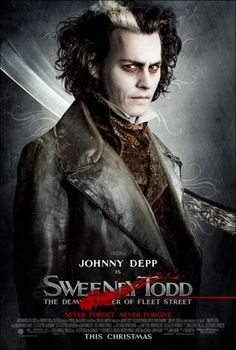Sweeney Todd. This movie is awesome haha.