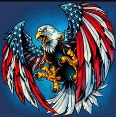 American Flag Wallpaper, Eagle Wallpaper, Patriotic Pictures, Eagle Pictures, Eagle Artwork, Eagle Drawing, Eagle Painting, Native American Images, Tropical Art
