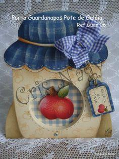 Jam jar - apple