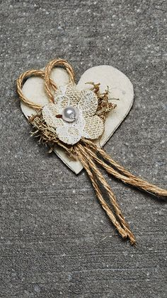 Tucson Gardening Ideas It's time to make your house a home with the addition of these decorative, ai Burlap Flowers, Diy Flowers, Fabric Flowers, Wedding Pins, Diy Wedding, Homemade Wall Decorations, Wedding Cards Handmade, Animal Crafts For Kids, Burlap Crafts