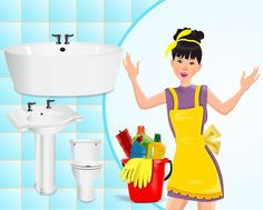 Kopalnice zagotovo ni najlažje očistiti, zato vam predstavljamo nekaj naravnih trikov, s katerimi boste lažje očistiti vašo kopalnico.