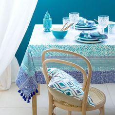 Geometric-Print Tablecloth and Napkin - Tablecloths - Tableware   Zara Home Netherlands