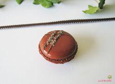 magnet macaron couleur cuivre pâte polymère fimo MAGN24 l'air du temps : Accessoires de maison par lutinette40