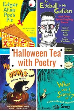 Halloween Tea With Poetry ~ The Organized Homeschooler
