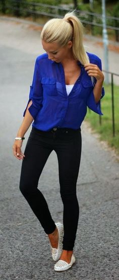 20 Style Tips On How To Wear Sneakers   Skinny jeans and ...