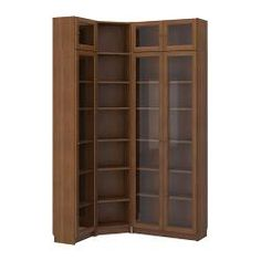 corner bookcase-Oh man! We need one of these!