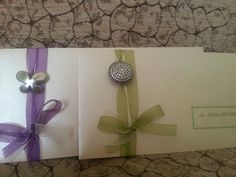 Handmade invitation cards for my wedding ceremony :))