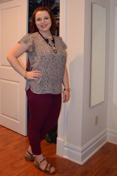 NYC Recessionista: What NYC Recessionista Wears: oxblood