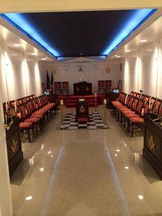 Masonic Temple - Interior.
