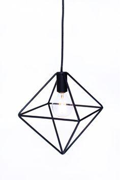 Luminária Pomelo - Em aço, pintada na cor preta - Design: Pomelo - http://www.studioarco.design/ - Studio Ar.Co -  #design #decoracao #luminarias #iluminacao #designautoral #decoration #bright #lighting #home