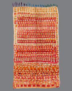 vintage Moroccan rug, Boujad #BJ06