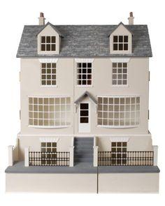 Melody Jane Dolls House Miniature Gable Dormer Window Kit 1:24 Half Scale