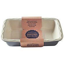Buy Mason Cash Baker Street Rectangular Pie Dish, 31cm Online at johnlewis.com
