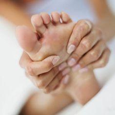 Foot drop stretches.