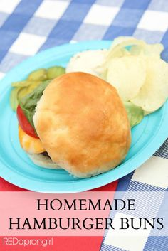 Homemade Hamburger Bun Recipe, these will take that summer burger to an entirely new delicious level