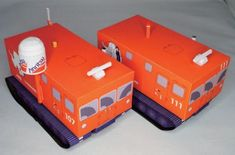 Antarctic Observation Snow Vehicle SM100S Free Paper Model Download - http://www.papercraftsquare.com/antarctic-observation-snow-vehicle-sm100s-free-paper-model-download.html#SM100S, #VehiclePaperModel