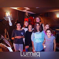 En Studio avec Claire et ses copines à #Lyon  Stromae - Papaoutai