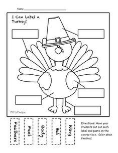 FREE Thanksgiving- Turkey Label-