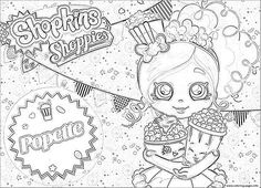 print shopkins shoppies girls coloring pages | desenhos sophia ... - Hopkins Coloring Pages Print