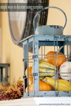 Simple Ways To Decorate Using Pumpkins