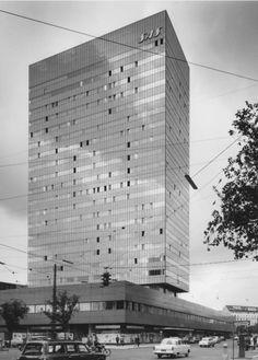 Arne Jacobsen, SAS Royal Hotel Copenhagen, 1960s.