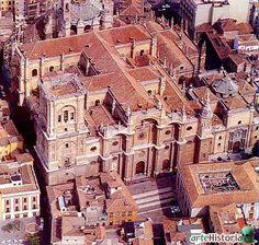 Diego de Siloe. Catedral de Granada (1528). Vista aérea