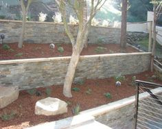 sloping front yard landscaping australia - Google Search