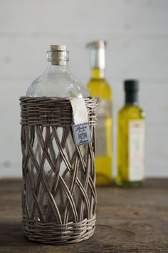 RR Olio Bottle Open Weaved